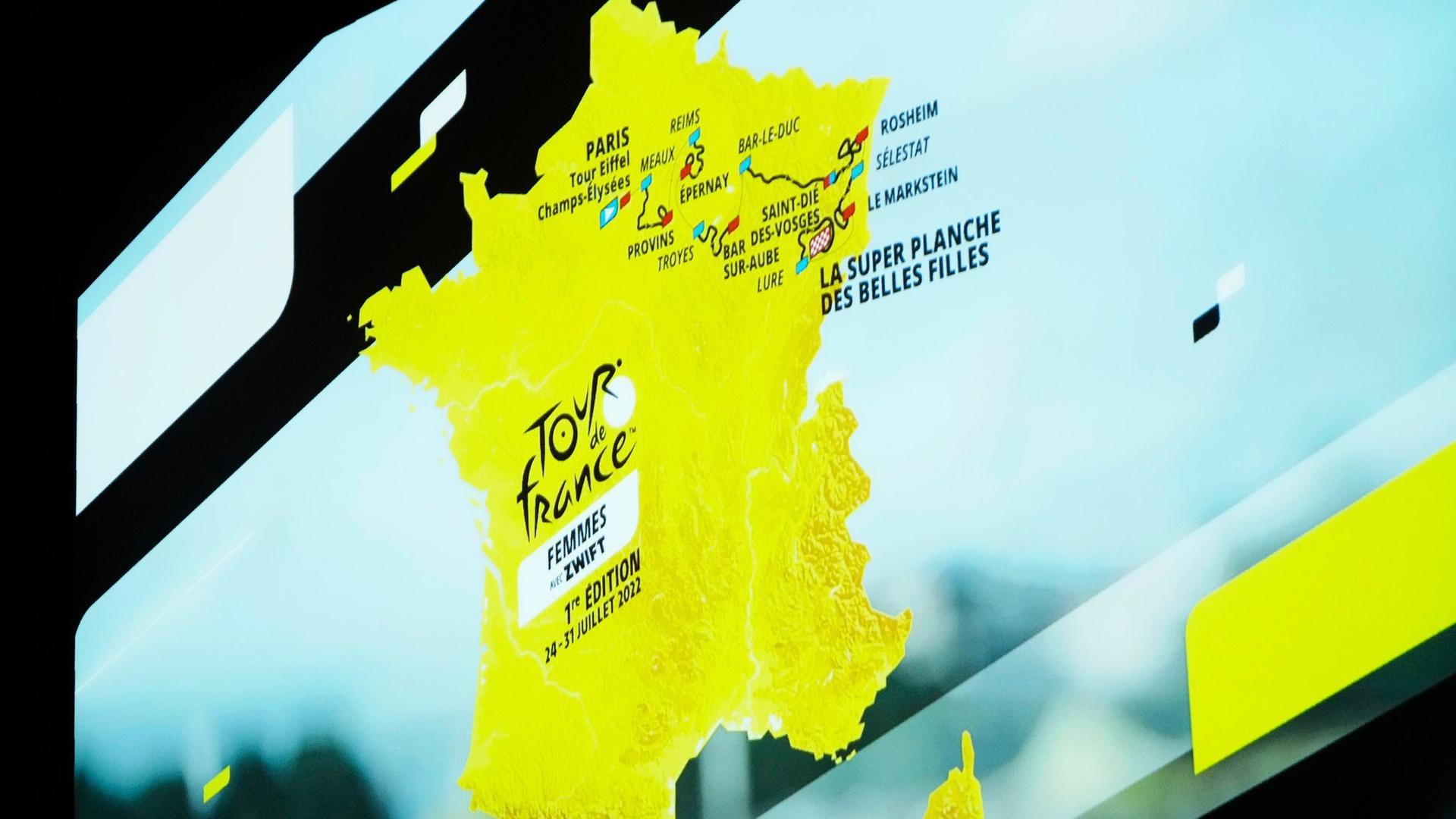 Start in Kopenhagen, Finale in Paris: Der Streckenplan der Tour de France 2022 steht fest.