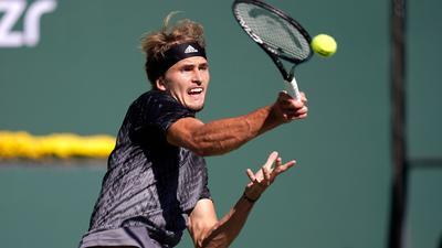 Überraschend in Indian Wells ausgeschieden: Alexander Zverev.