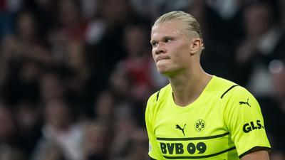 Dortmunds Erling Haaland fällt mit einer Verletzung am Hüftbeuger einige Wochen aus.