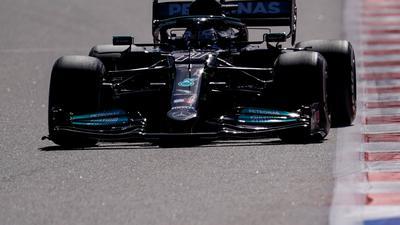 Lag im ersten Training in Austin vorne: Mercedes-Pilot Valtteri Bottas.
