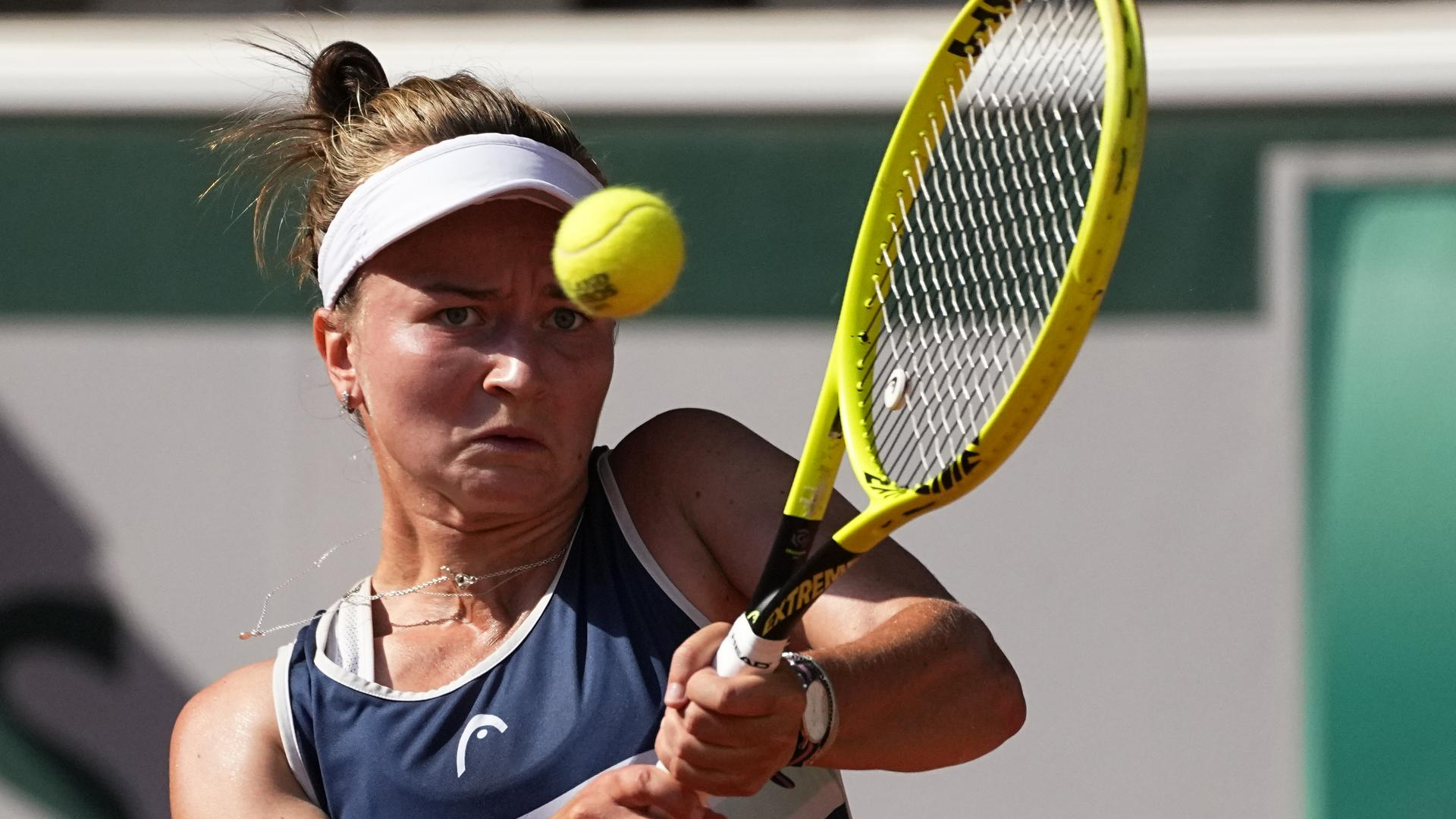 Vor Grand-Slam-Sieg: Barbora Krejcikova schlug im Sommer 2019 bei den Liqui Moly Open in Karlsruhe auf und verlor in der ersten Runde.